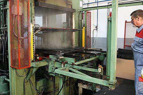 Gledring Gumene Patosnice - Proces Proizvodnje - Slika 8